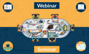 Care este diferenta intre webinar si seminar