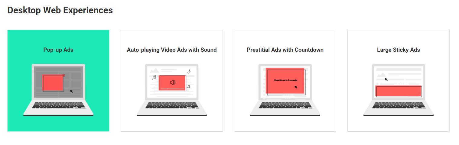 imbunatatirea publicitatii adblock google chrome